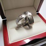 Vestuviniai žiedai dizainas 80