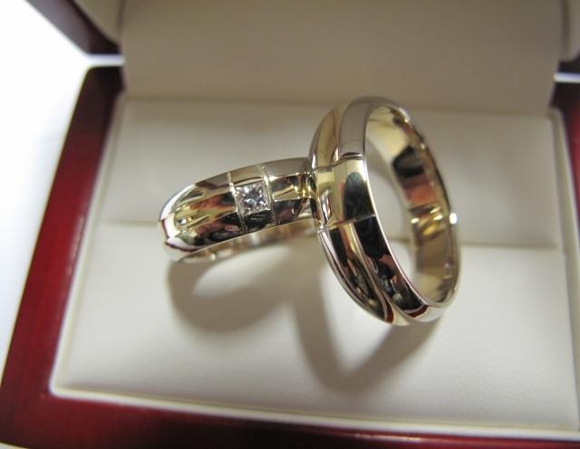 Vestuviniai žiedai dizainas 81