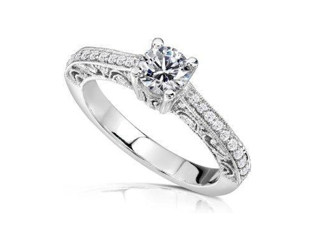 Sužadėtuvių žiedas dizainas 34