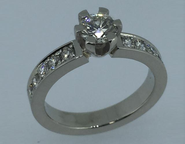 Sužadėtuvių žiedas dizainas 25