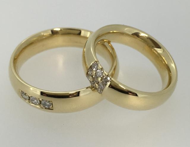 Vestuviniai žiedai dizainas 102
