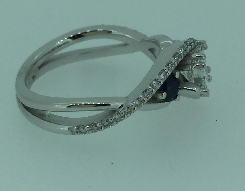 Sužadėtuvių žiedas dizainas 12