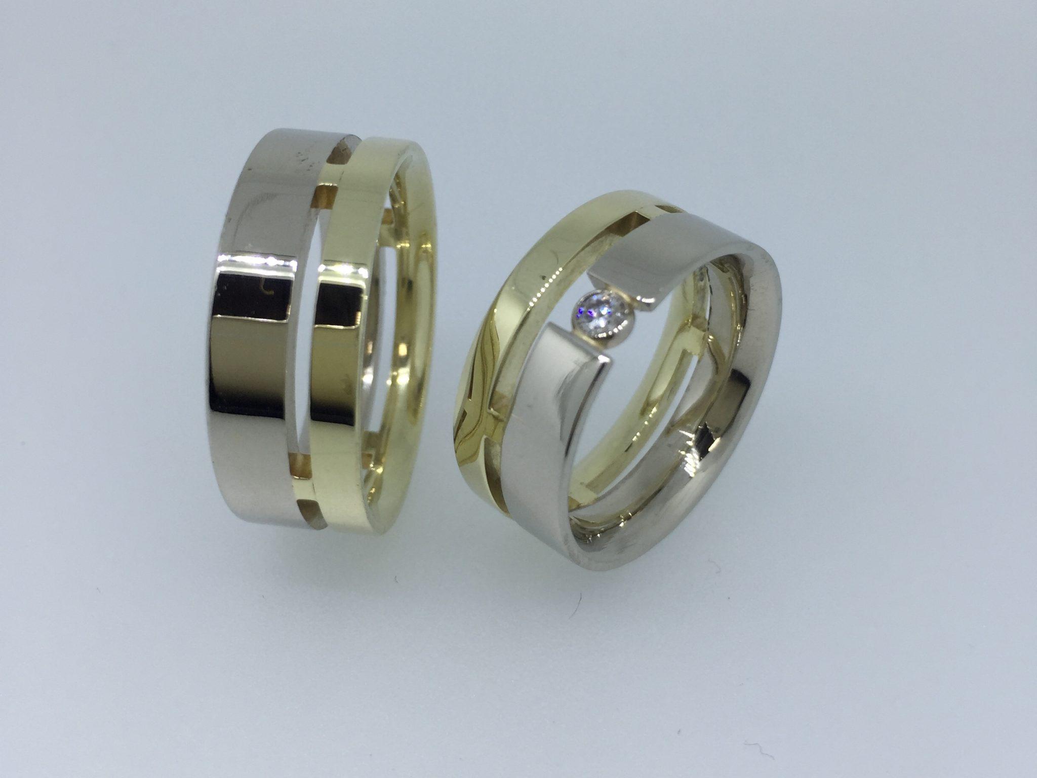 Vestuviniai žiedai dizainas 4