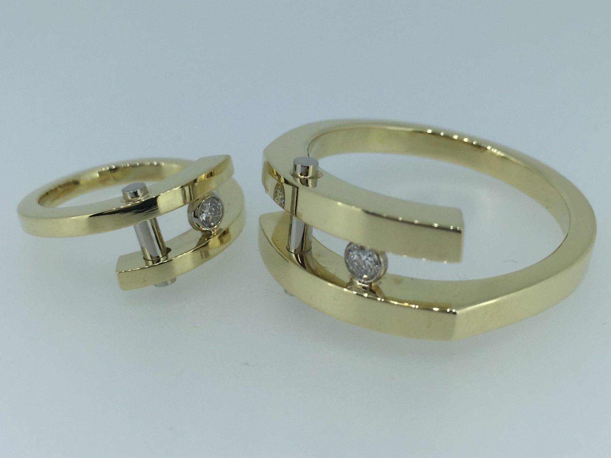Vestuviniai žiedai dizainas 156