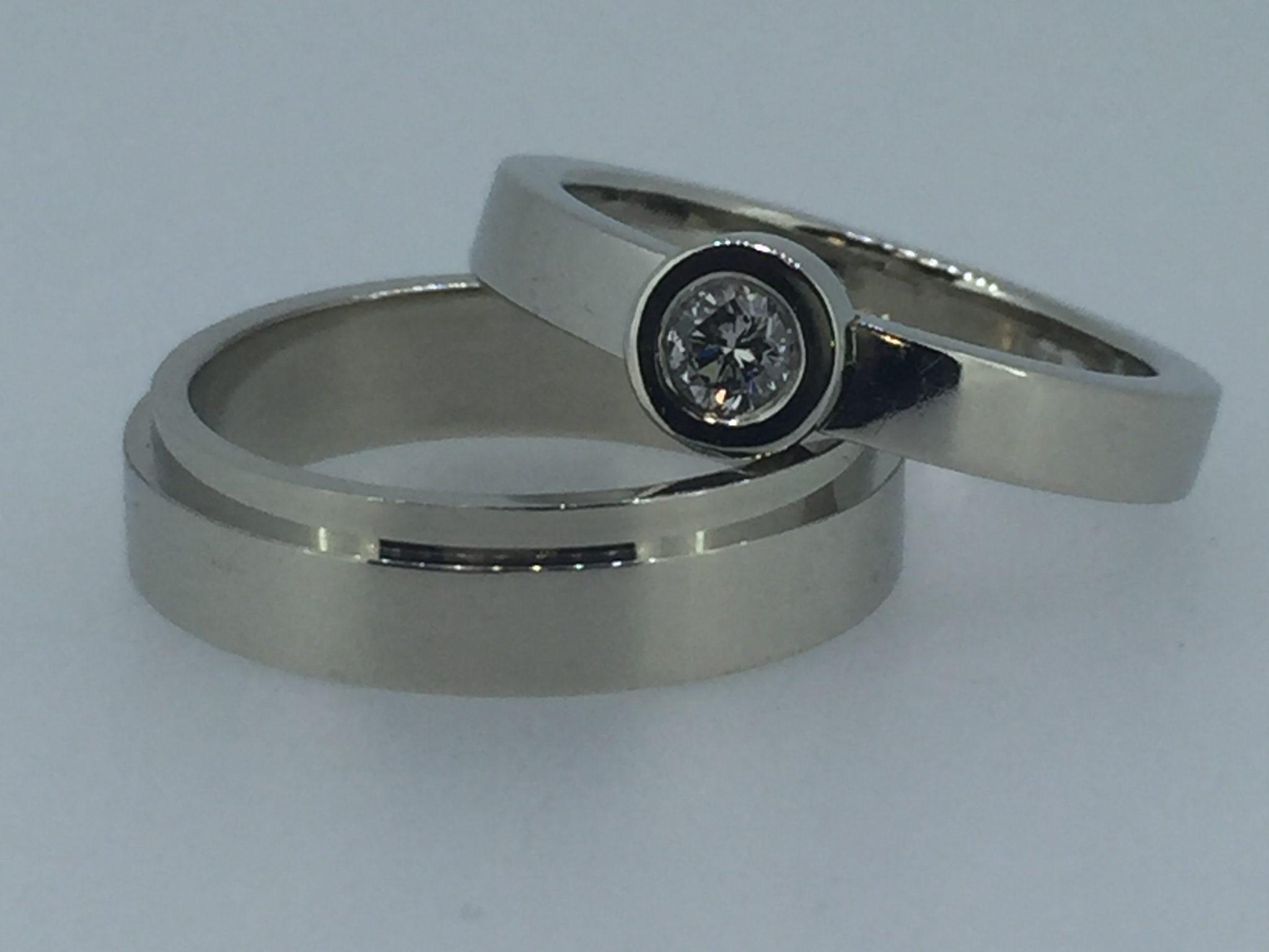 Vestuviniai žiedai dizainas 55