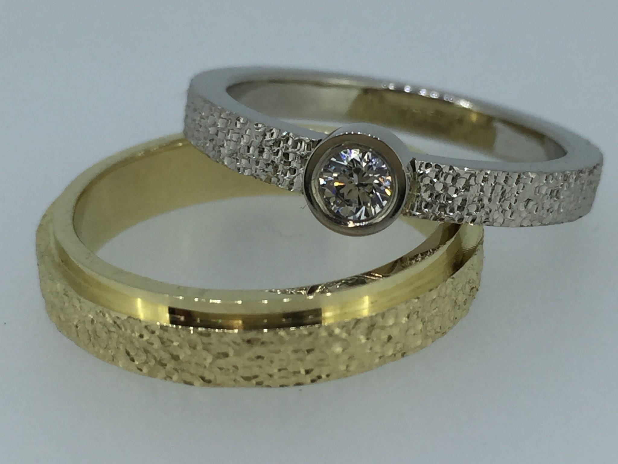 Vestuviniai žiedai dizainas 54