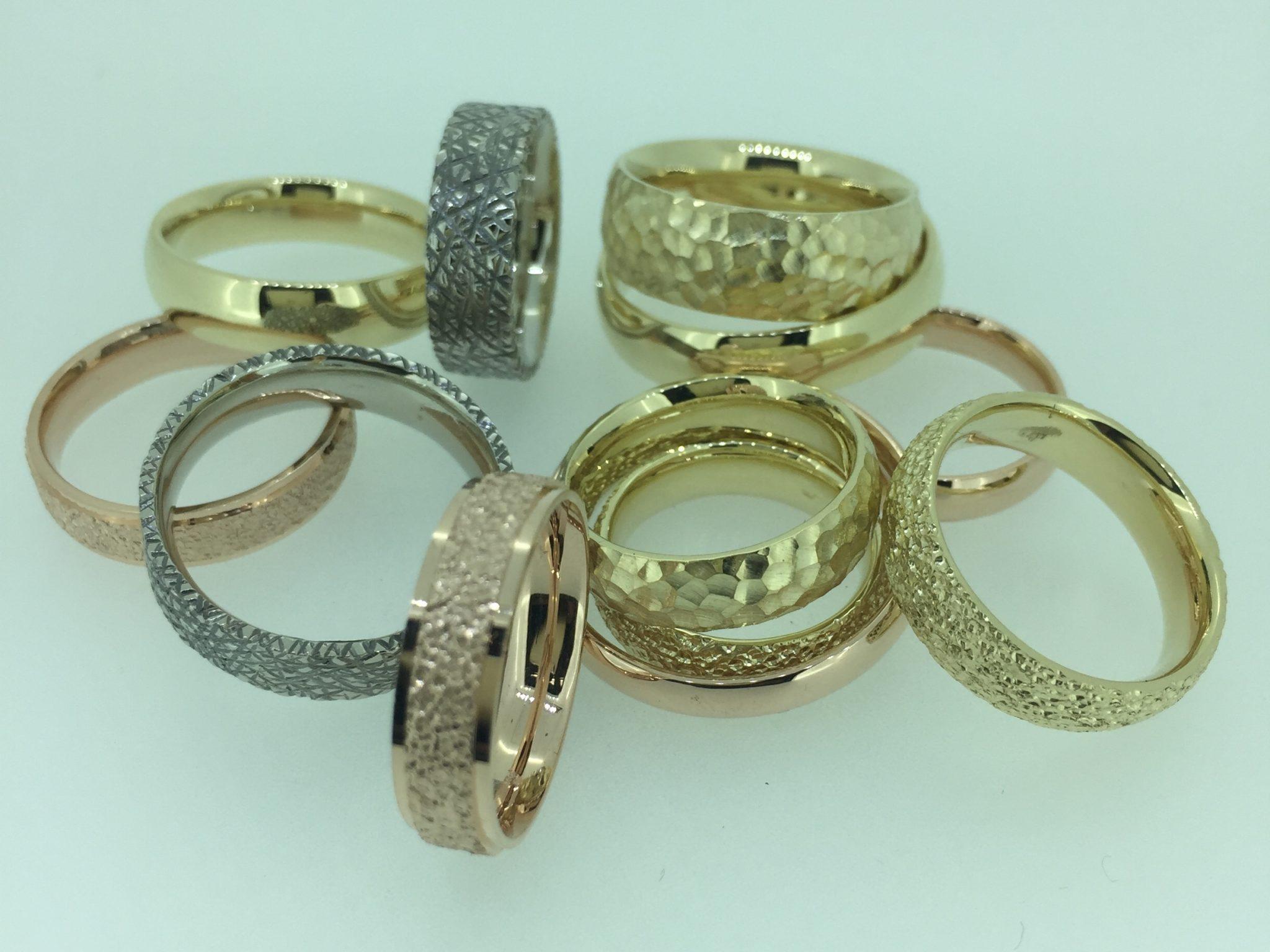 Vestuvinių žiedų pavyzdžiai