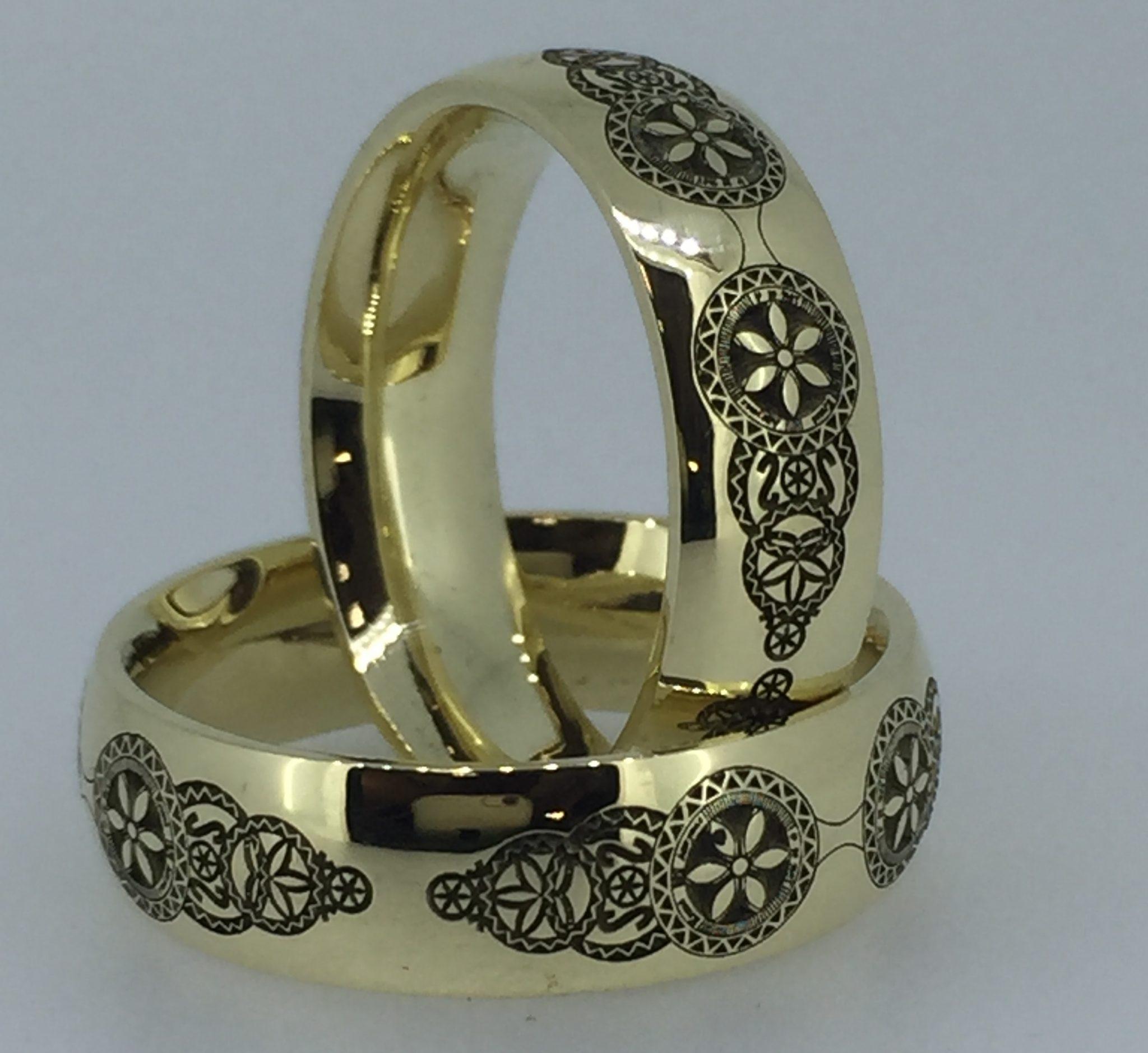 Vestuviniai žiedai dizainas 11